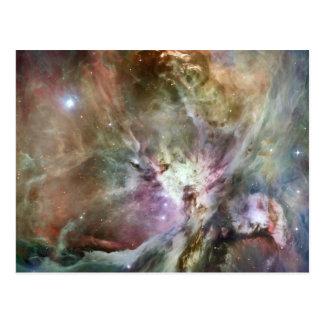 Orion Nebula Pastels Postcard