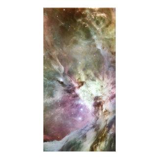 Orion Nebula Custom Photo Card