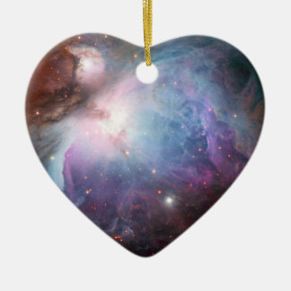 Orion Nebula Purple Space Christmas Ornament