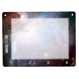 Orion Nebula Purple Space Dry Erase Board With Key Ring Holder