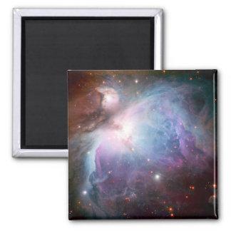 Orion Nebula Purple Space Square Magnet
