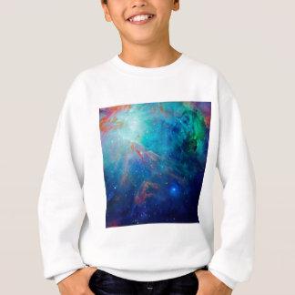 Orion Nebula shimmering blue NASA Sweatshirt