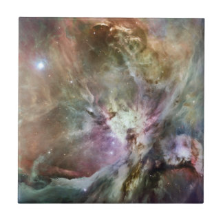 Orion Nebula Small Square Tile