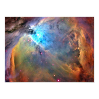 Orion Nebula Space Galaxy 14 Cm X 19 Cm Invitation Card