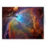 Orion Nebula Space Galaxy Big Greeting Card