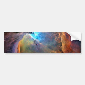Orion Nebula Space Galaxy Bumper Sticker