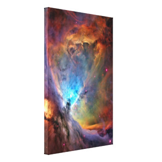 Orion Nebula Space Galaxy Canvas Print