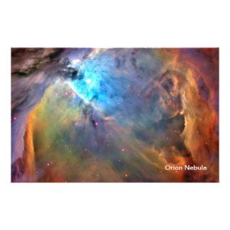 Orion Nebula Space Galaxy Full Color Flyer