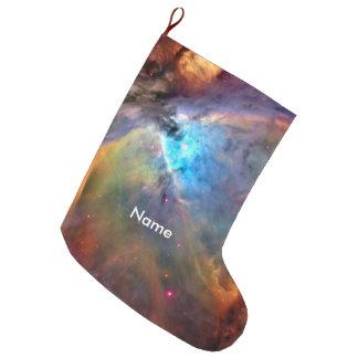 Orion Nebula Space Galaxy Large Christmas Stocking