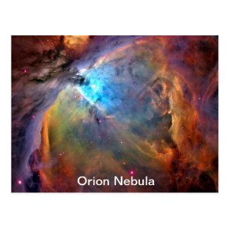 Orion Nebula Space Galaxy Postcard
