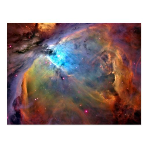 Orion Nebula Space Galaxy Postcards