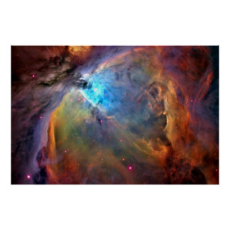 Orion Nebula Space Galaxy Poster X LG 60x40