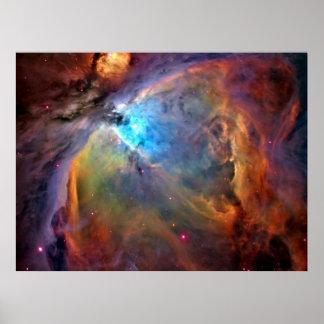 Orion Nebula Space Galaxy Print