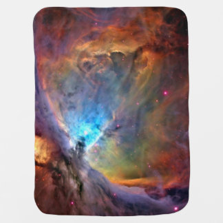Orion Nebula Space Galaxy Receiving Blankets