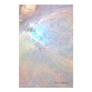 Orion Nebula Space Galaxy Stationery Design