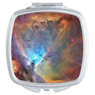 Orion Nebula Space Galaxy Vanity Mirror