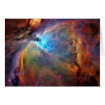 Orion Nebula Space Note Card