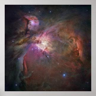Orion Nebula Square Posters