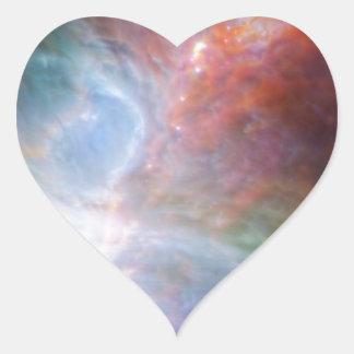 Orion Rainbow Heart Sticker