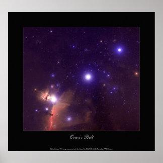 Orion s Belt Poster