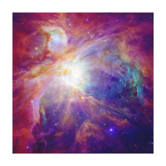 Orion space canvas print
