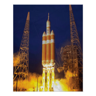Orion Spacecraft Liftoff Poster