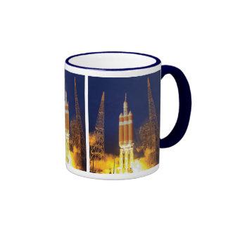 Orion Spacecraft Liftoff Ringer Mug