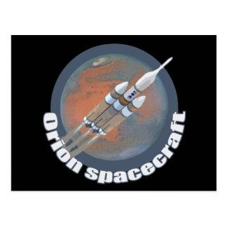 Orion Spacecraft Postcard