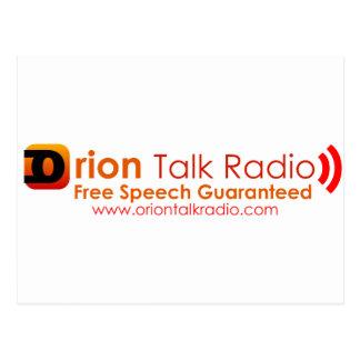 Orion Talk Radio Postcards