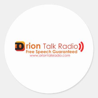 Orion Talk Radio Sticker