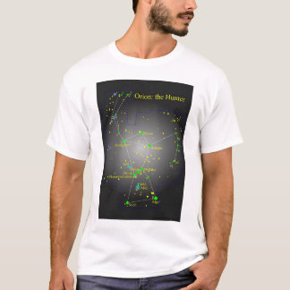 Orion the Hunter constellation T-Shirt