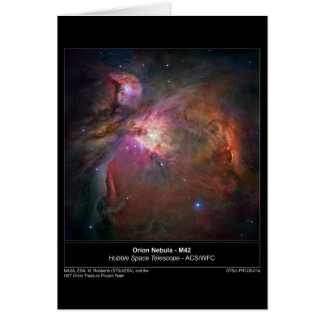 OrionNebula-M42-2006-01a Greeting Card