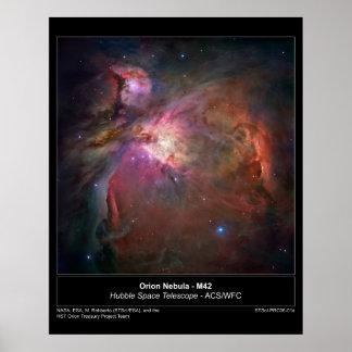 OrionNebula-M42-2006-01a Poster