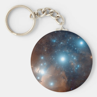 Orion's Belt Basic Round Button Key Ring