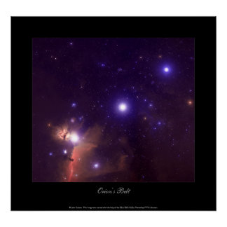 Orion's Belt Poster
