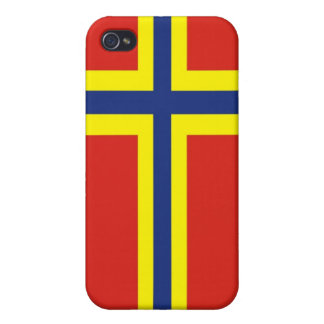 orkney country flag great britain united kingdom iPhone 4/4S cover