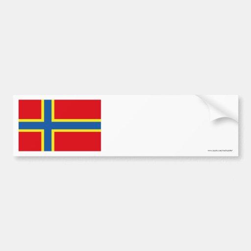 Orkney Flag Bumper Sticker