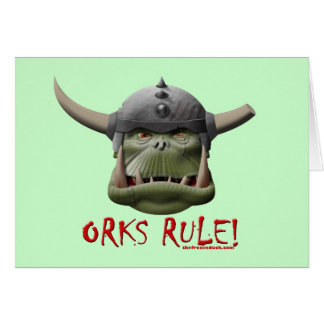 Orks Rule! Card