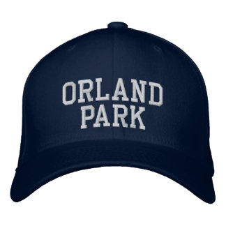 Orland park embroidered cap