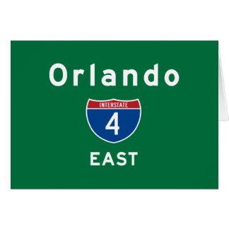Orlando 4 stationery note card