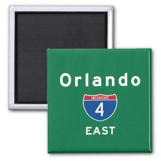 Orlando 4 square magnet