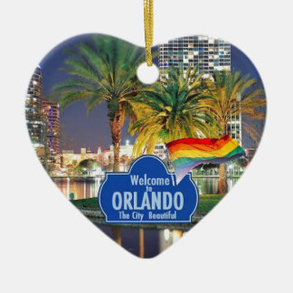 Orlando FLORIDA Christmas Ornament