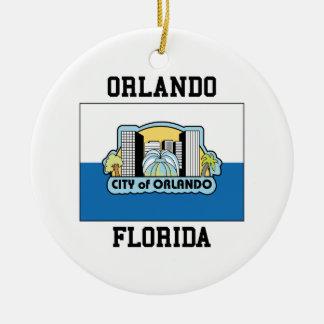 Orlando Florida Christmas Ornament