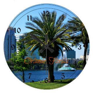 Orlando Florida Cityscape Clock