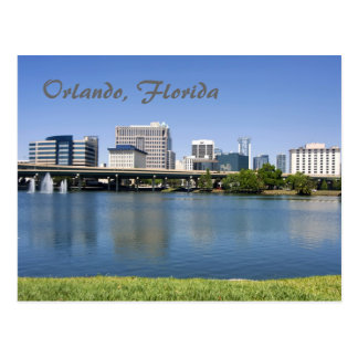 Orlando Florida from across Lake Lucerne Postcards