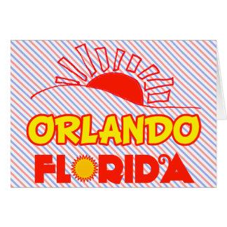 Orlando, Florida Greeting Card