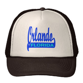 Orlando, Florida Trucker Hats