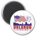Orlando Florida Patriotic Magnet