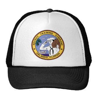 Orlando Florida Recruit Training Command Mesh Hat
