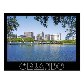 Orlando, Florida viewd from Lake Lucerne Postcard